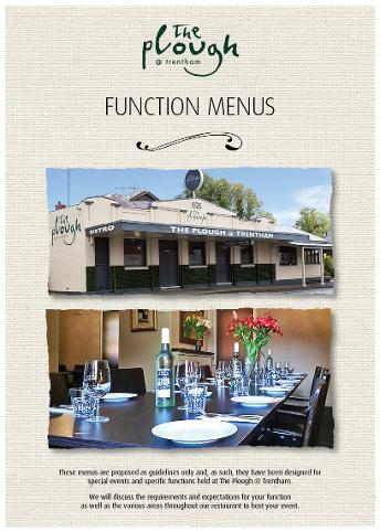 The Plough @ Trentham Functions