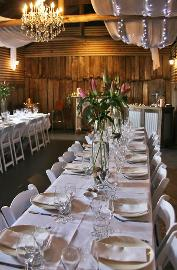 The Plough Stables - table setup